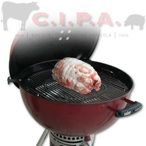 Porchetta con BBQ